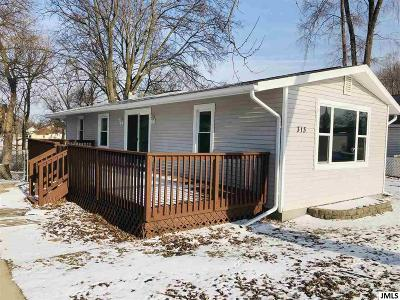 Jackson County, Hillsdale County, Lenawee County, Washtenaw County Single Family Home For Sale: 313 Ackerson Lake Dr