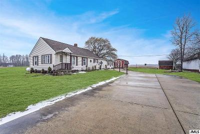 Jackson County Single Family Home Contingent Bank Approval: 15394 Devereaux Rd