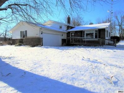 Lenawee County Single Family Home For Sale: 13555 W Us 223