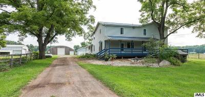 Hanover MI Single Family Home For Sale: $549,900