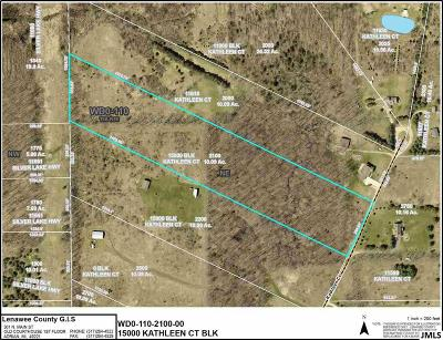 Brooklyn MI Residential Lots & Land For Sale: $54,900