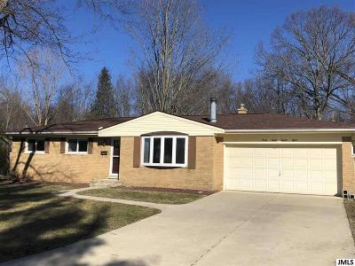 Jackson MI Single Family Home Contingent - Financing: $145,500