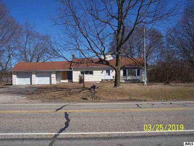 Jackson County Single Family Home For Sale: 8000 E Michigan Ave