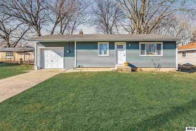 Jackson MI Single Family Home Contingent - Financing: $90,000