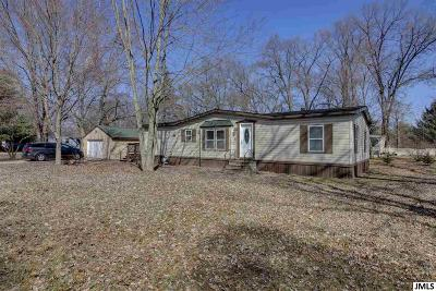 Jackson MI Single Family Home Contingent - Financing: $99,000