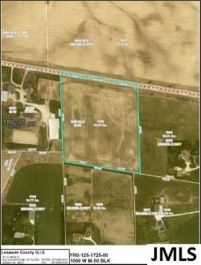 Tipton MI Residential Lots & Land For Sale: $65,000