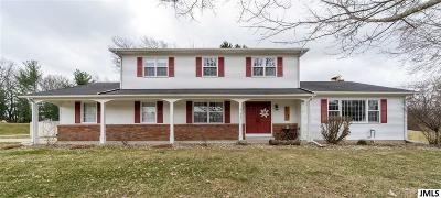 Jackson Single Family Home For Sale: 1731 Metzmont