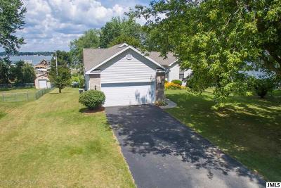 Pleasant Lake Single Family Home Contingent: 590 Ramsey Lane