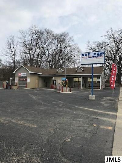 Jackson County Commercial/Industrial For Sale: 524 E McDevitt