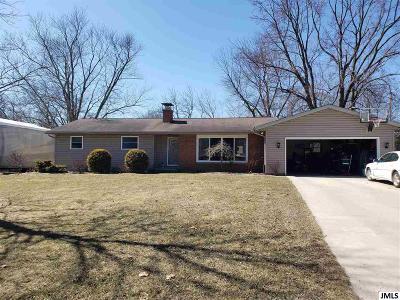 Michigan Center Single Family Home For Sale: 4407 Allison Dr
