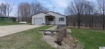 Eaton Rapids Single Family Home Contingent - Financing: 9931 S Clinton Trail