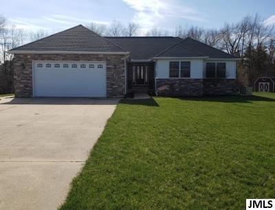 Jackson Single Family Home For Sale: 5647 S Stoney Lake Rd