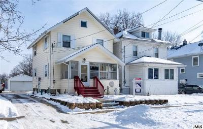Jackson MI Single Family Home For Sale: $79,900