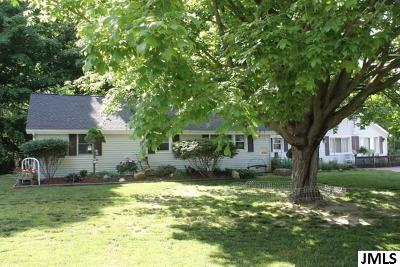 Single Family Home For Sale: 5312 Seymour Rd