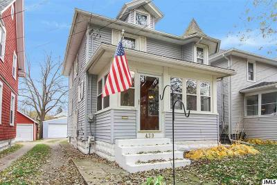 Jackson Single Family Home For Sale: 439 N Pleasant St