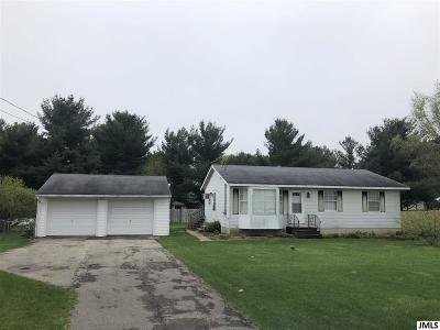 Pleasant Lake Single Family Home Contingent - Financing: 10221 N Meridian Rd