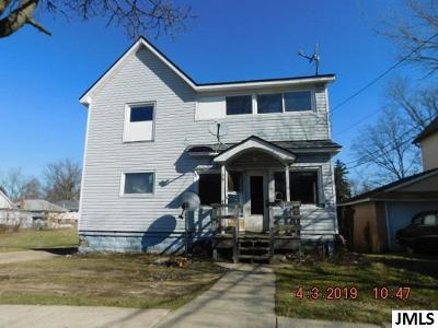 Hillsdale Single Family Home For Sale: 39 E Hallett St