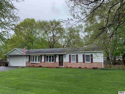Jackson MI Single Family Home Contingent - Financing: $135,000