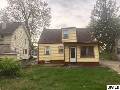 Jackson Single Family Home Contingent - Financing: 160 W Mansion St
