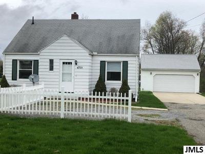 Jackson Single Family Home For Sale: 4700 McCain Rd