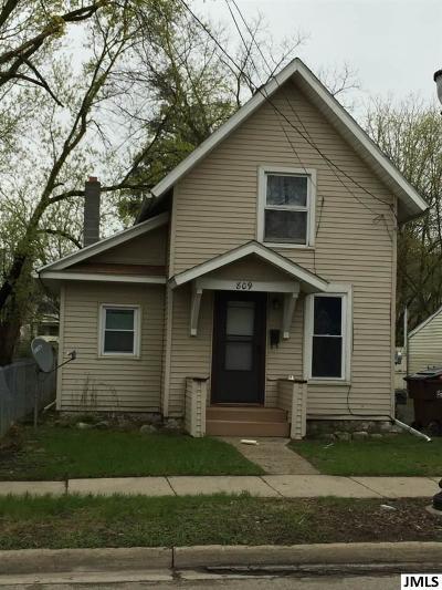 Jackson Single Family Home For Sale: 809 S Jackson