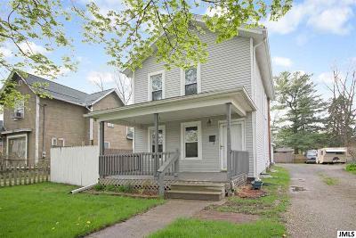 Jackson Single Family Home For Sale: 521 Hallett St