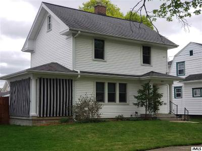 Jackson Single Family Home For Sale: 809 S Grinnell