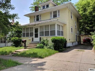 Jackson MI Single Family Home For Sale: $72,000