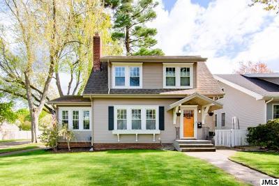 Jackson MI Single Family Home For Sale: $139,900