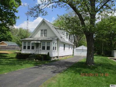 Michigan Center Single Family Home For Sale: 145 Sager Rd