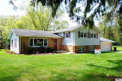 Jackson MI Single Family Home Contingent - Financing: $185,000
