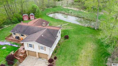 Single Family Home For Sale: 9888 Rives Junction Rd