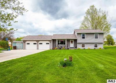 Eaton Rapids Single Family Home For Sale: 5490 Roland
