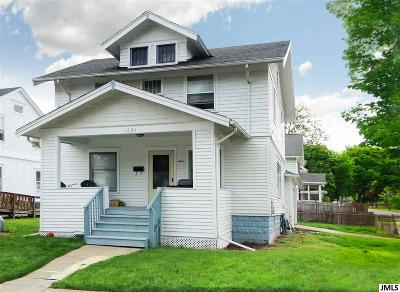 Jackson MI Single Family Home Contingent - Financing: $39,900
