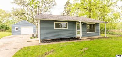 Michigan Center MI Single Family Home Contingent - Financing: $130,000