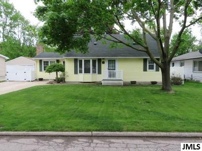 Lansing Single Family Home Contingent: 711 Donson Dr