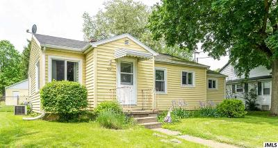 Jackson MI Single Family Home Contingent - Financing: $99,900