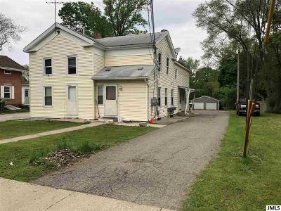 Brooklyn MI Multi Family Home Contingent - Financing: $89,900