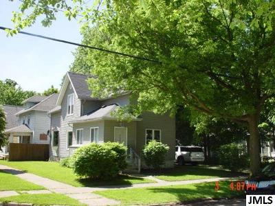 Jackson Single Family Home For Sale: 202 N Pleasant St