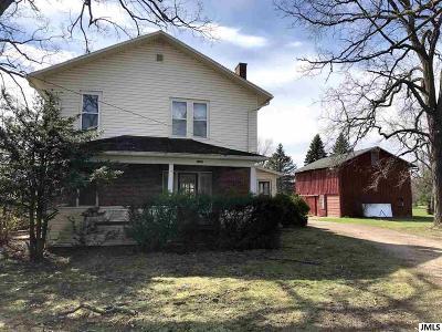Jackson Single Family Home For Sale: 2228 Kibby Rd