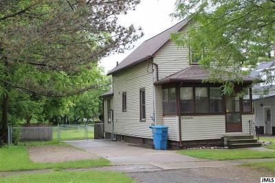 Jackson Single Family Home For Sale: 221 E Porter St