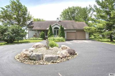 Lenawee County Single Family Home For Sale: 8055 Stephenson Rd