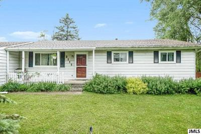 Dansville Single Family Home For Sale: 2115 Ewers