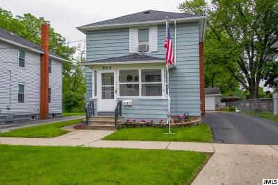 Jackson Single Family Home For Sale: 353 N Grinnell