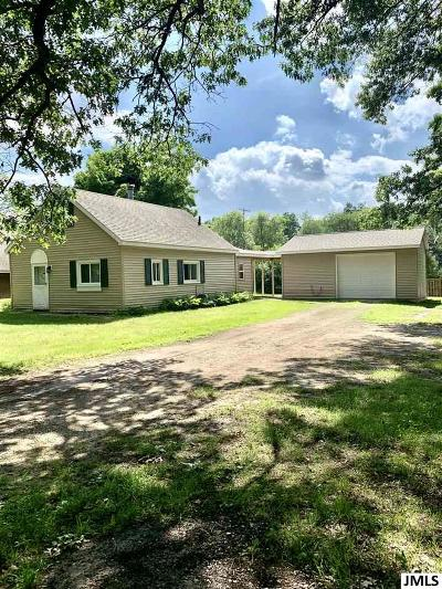 Grass Lake Single Family Home Contingent - Financing: 5898 Wolf Lake Rd