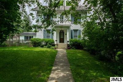 Leslie Single Family Home For Sale: 406 S Main St