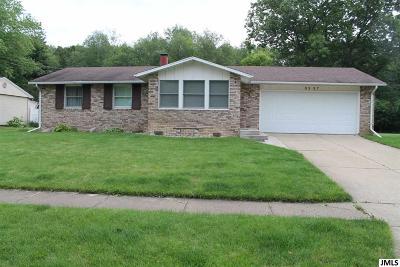 Jackson Single Family Home For Sale: 3337 Blue Ln