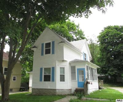 Jackson Single Family Home For Sale: 506 W Biddle