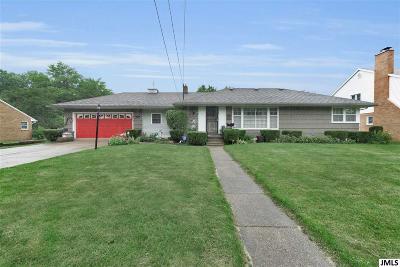 Jackson Single Family Home For Sale: 1210 S Bowen St