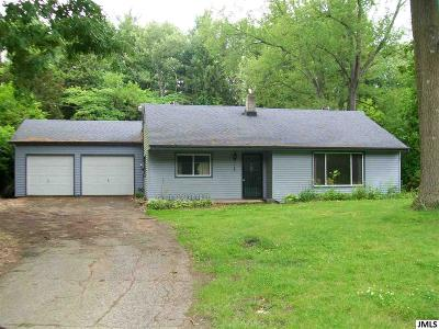 Jackson MI Single Family Home For Sale: $75,000
